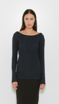 Organic by John Patrick Long Sleeve Scoop Back Tee