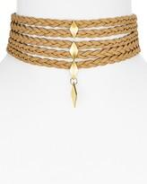 "Vanessa Mooney Blossom Choker Necklace, 11"""