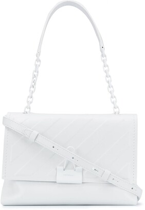 Off-White Diag soft binder clip shoulder bag