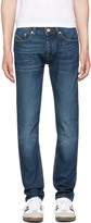 Diesel Black Gold Blue Skinny Jeans