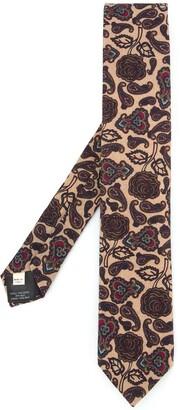 Kent & Curwen Paisley Print Tie