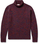 Oliver Spencer Zaria Mélange Wool Rollneck Sweater