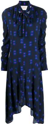 La DoubleJ floral print asymmetric dress
