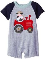 Mud Pie Tractor Raglan One-Piece Boy's Jumpsuit & Rompers One Piece