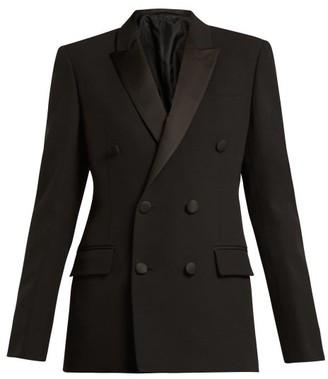 Connolly - Double-breasted Crepe Tuxedo Jacket - Black