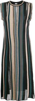 M Missoni striped knit midi dress
