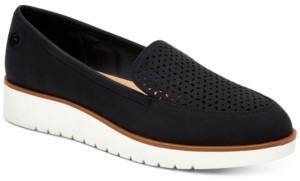Giani Bernini Memory Foam Graysonn Wedge Loafers, Created for Macy's Women's Shoes