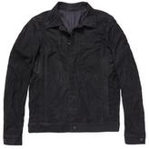 Rick Owens Leather Worker Jacket