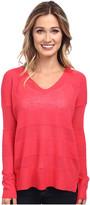 Splendid Cashmere Blend Shadow Stripe Sweater