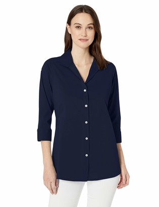 Foxcroft Women's Charli Non Iron Stretch Tunic