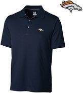 Cutter & Buck Men's Denver Broncos DryTec Glendale Polo Shirt