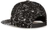 Hype Black And White Paint Splat Snapback Cap*