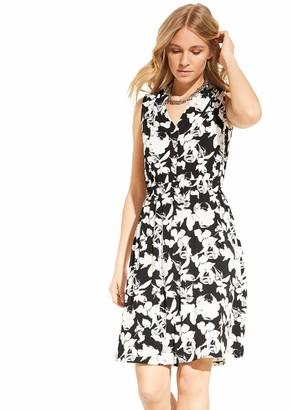 Comma Women's 8t.005.82.5437 Kleid Kurz Dress