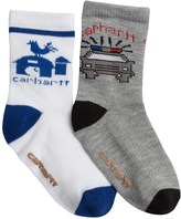 Carhartt Work Days Gripper Socks - 2-Pack, Crew (For Little and Big Boys)
