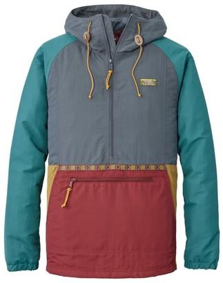 L.L. Bean Men's Mountain Classic Insulated Anorak Multi Color Regular