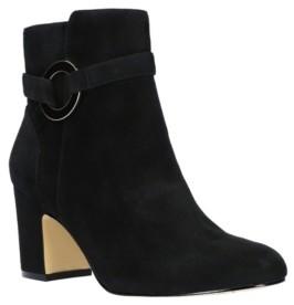 Bella Vita Marla Block Heel Ankle Boots Women's Shoes