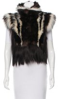 Tom Ford Cropped Fur Vest