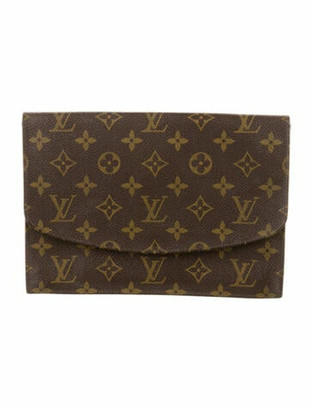 Louis Vuitton Vintage Monogram Pochette Rabat Brown