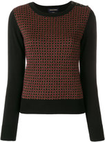 Vanessa Seward embroidered knitted sweater