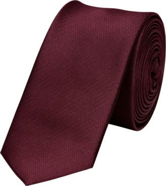 yd. Red Herringbone 5cm Tie