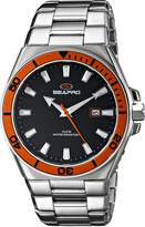 Seapro Men's SP8110 Storm Analog Display Quartz Silver Watch