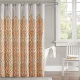 Madison Park Leah Fabric Shower Curtain