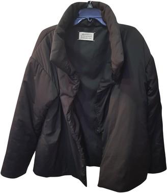 Maison Margiela Black Synthetic Leather jackets