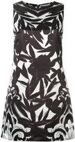 Alice + Olivia Alice+Olivia - floral print shift dress - women - Polyester/Spandex/Elastane - 4