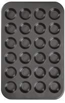 Wilton Ultra Bake Pro 24 Cavity Mini Muffin Pan - Black