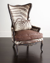 Old Hickory Tannery Bono Hairhide Wing Chair