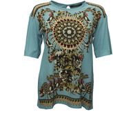 Roberto Cavalli Abstract Print T-Shirt