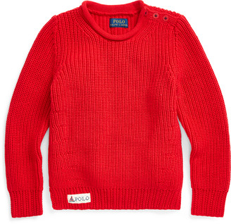 Ralph Lauren Cotton Rollneck Sweater
