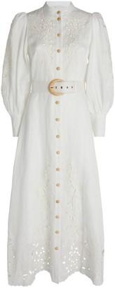 Zimmermann Peggy Crochet Dress