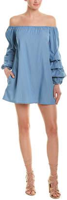 Lumiere Off-The-Shoulder Shift Dress