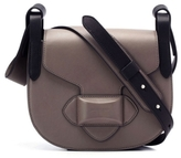 Michael Kors Daria Small Crossbody Saddle Bag in Elephant