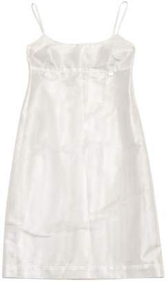 Chanel Silver Synthetic Dresses