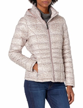 Calvin Klein womens short packable down coat