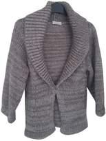 Pinko Grey Wool Knitwear for Women