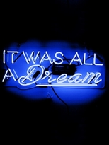 Oliver Gal It Was All a Dream (Neon Sign)