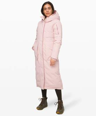 Lululemon Winter Warrior Long Parka