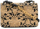 Tory Burch brocade shoulder bag - women - Leather/Polyester/Metallic Fibre - One Size