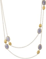 Marco Bicego 18K Yellow Gold and Chalcedony Siviglia Necklace, 36