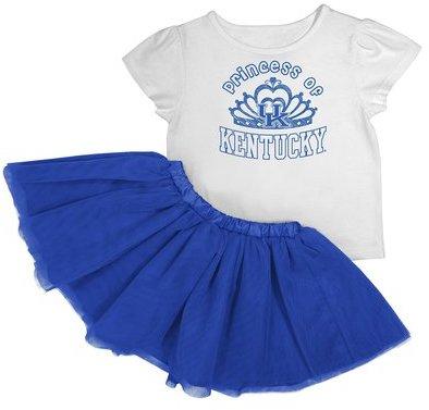 NCAA Toddler Girl's TuTu Set - Kentucky