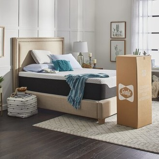 "Sealy 14"" Medium-Firm Clean and Cool Hybrid Mattress Mattress Size: Twin XL"