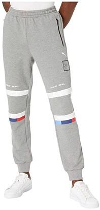 Puma BMW Street Sweat Pants (Medium Grey Heather) Men's Casual Pants