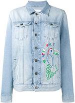 Mira Mikati Hama bead embellished denim jacket - women - Cotton - 34