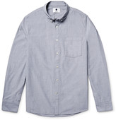Nn07 - Falk Slim-fit End-on-end Cotton Shirt