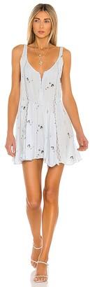 Free People Give A Little Mini Slip Dress
