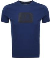 C.P. Company Logo T Shirt Blue