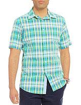Daniel Cremieux Jeans Plaid Short-Sleeve Woven Shirt